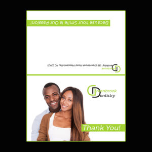 dentist referrals thank you cards